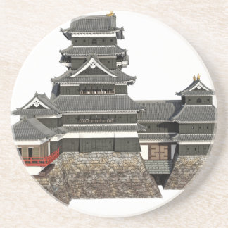 Classical Japanese Castle Coasters