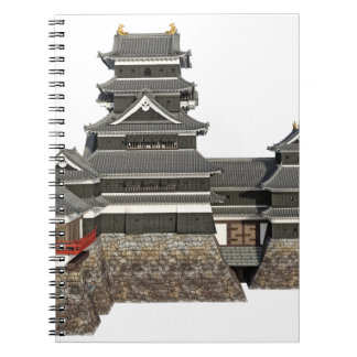 Classical Japanese Castle Notebooks