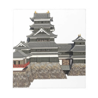 Classical Japanese Castle Notepad