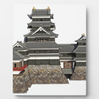 Classical Japanese Castle Plaque
