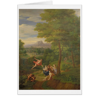 Classical Landscape with Mercury Overseeing the Bi Card