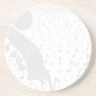 Classical Music Background Coaster