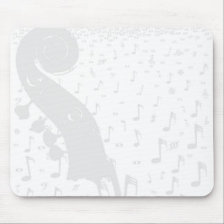 Classical Music Background Mouse Pad