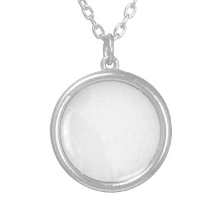 Classical Music Background Silver Plated Necklace