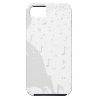Classical Music Background Tough iPhone 5 Case