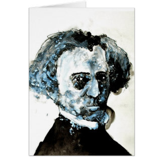 Classical Music Greeting Card - Berlioz