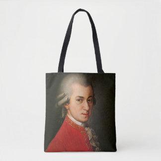 Classical Music Mozart Barbara Krafft portrait Tote Bag