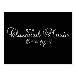 Classical Music postcard