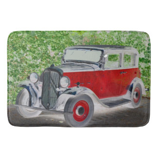 Classical old timer Citroen Bath Mats
