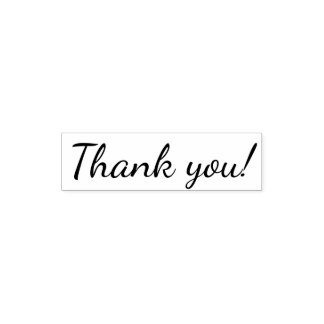 Classical Thank You Self-inking Stamp
