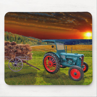 """""""Classical Trecker """" Mouse Pad"""