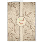 classical wedding thank you cards