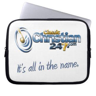 ClassicChristian247.com Laptop Bag