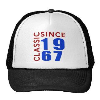 Classice Since 1967 Birthday Designs Cap
