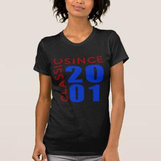 Classice Since 2001 Birthday Designs T-Shirt