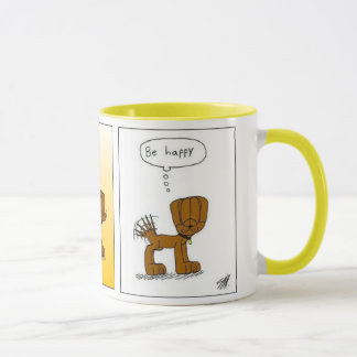 "Classics from R and V ""Be happy Mug"" (version two) Mug"