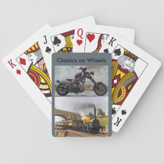 Classics on Wheels playing cards