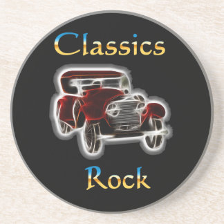 classics Rock 2 Sandstone Coaster