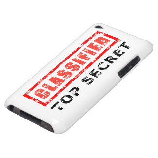 Classified Top Secret iPod Touch Cover