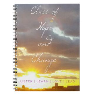 ClassofHC Sunrise Promo Notebook