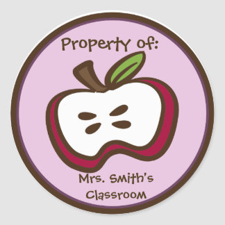 Classroom Apple Stickers