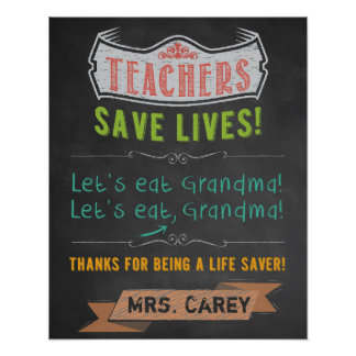 Classroom Decor - Teacher Appreciation