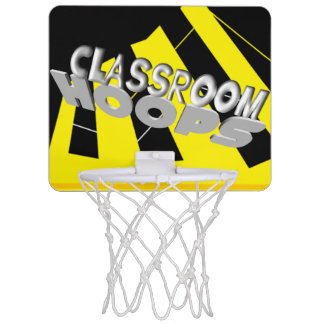 Classroom Hoops black and gold