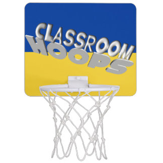 Classroom Hoops blue and gold