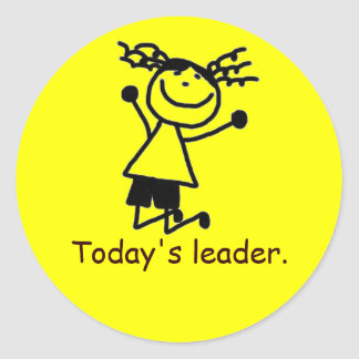 Classroom management sticker