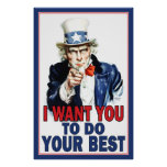 Classroom Poster: DO YOUR BEST