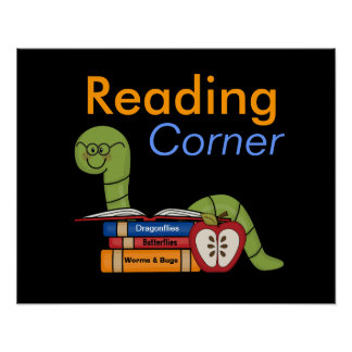 Classroom Reading Corner Poster