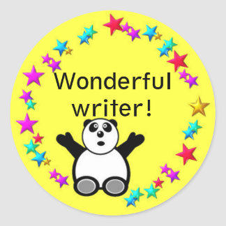 Classroom Reward  circle sticker