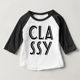 """""""CLASSY"""" 3-6 Month Baby Shirt! Baby T-Shirt"""