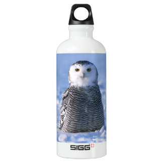 Classy Arctic Winter Snowy Owl Photo Designed SIGG Traveller 0.6L Water Bottle