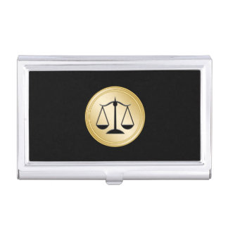 Classy Attorney Business Card Case