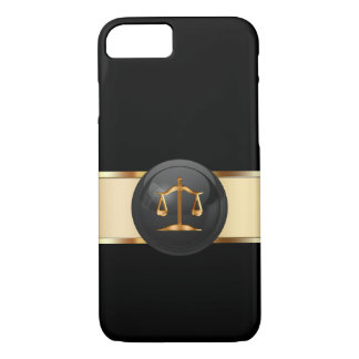 Classy Attorney Theme iPhone 7 Case