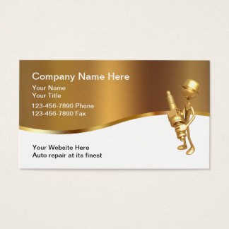 Classy Automotive Industry Theme Business Card