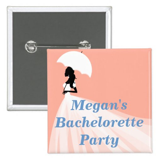 Classy Bachelorette Party Buttons Buttons