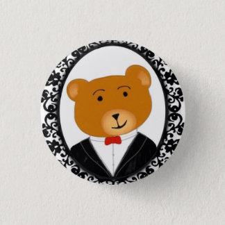 Classy Bear 3 Cm Round Badge