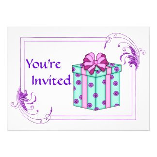 Classy Birthday Party for any age Personalized Announcement