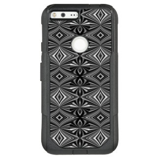 Classy Black and White Pattern OtterBox Commuter Google Pixel XL Case
