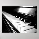 Classy Black & White Piano Photography