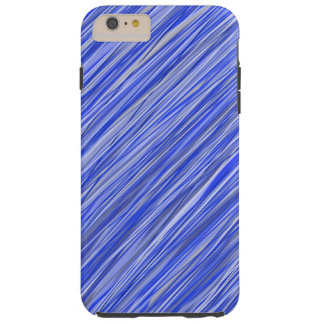 Classy blue striped phone case