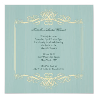Classy Bride-to-Be Bridal Shower Invitation