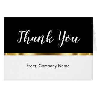 Classy Business Thank You Notes