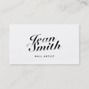 Nail Art Business Cards Zazzle Au
