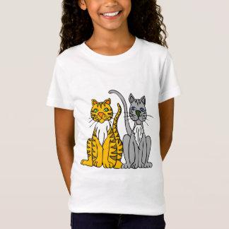 Classy Cats Girls T Shirt