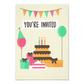 Classy Celebration invitation card