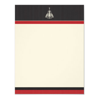 Classy Chandelier Flat Note Cards (GGs)