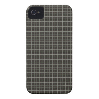 Classy Checker Pattern Designer iPhone Case Brown iPhone 4 Cases